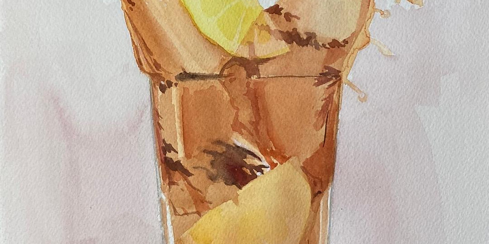 Wednesday Watercolor Course 11am