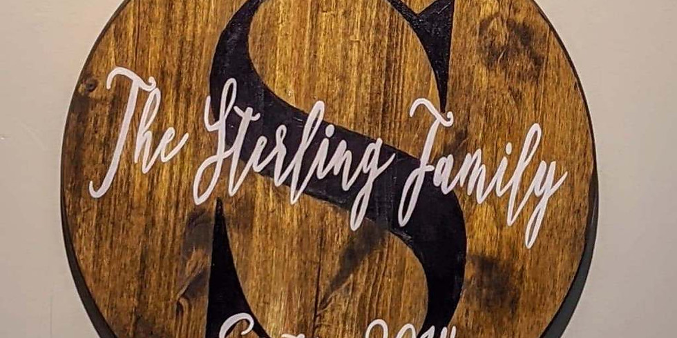 Wood Sign Class 4:30 pm