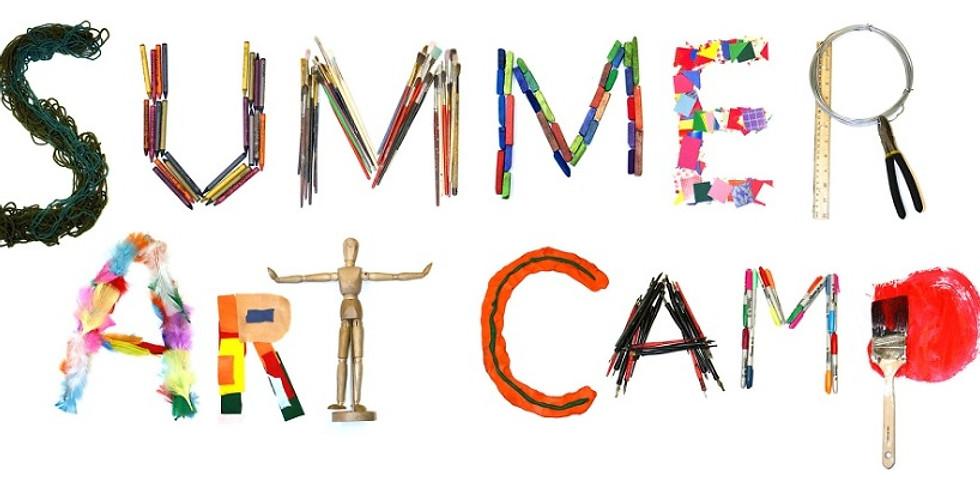 Summer Art Camp 11am-2pm