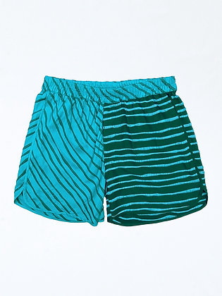 FLOWS-EMBROIDERY SHORTS
