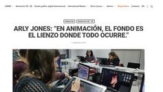 """ARLY JONES: """"EN ANIMACIÓN, EL FONDO ES EL LIENZO DONDE TODO OCURRE."""" (L'Idem Barcelona)"""