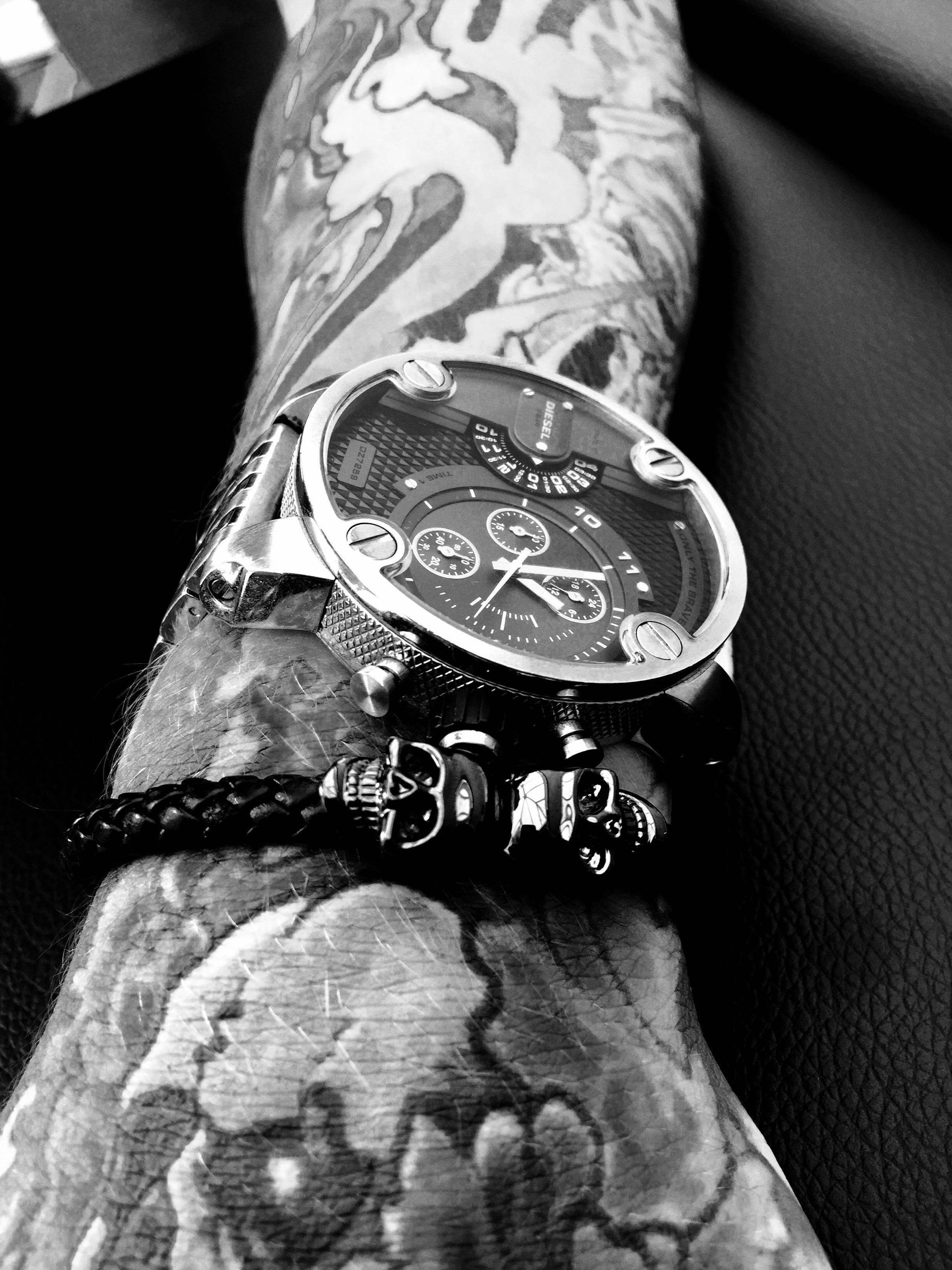 Hand w/ Tattoos
