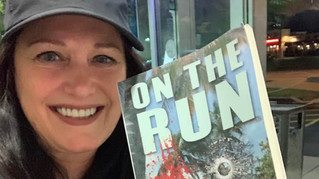 Former G.L.O.W. Superstar Patricia Summerland (Sunny) with On the Run 8-28-19
