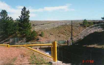 fences, guard rails, and gate