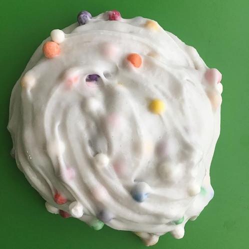 Vanilla Cream Sprinkle Slime