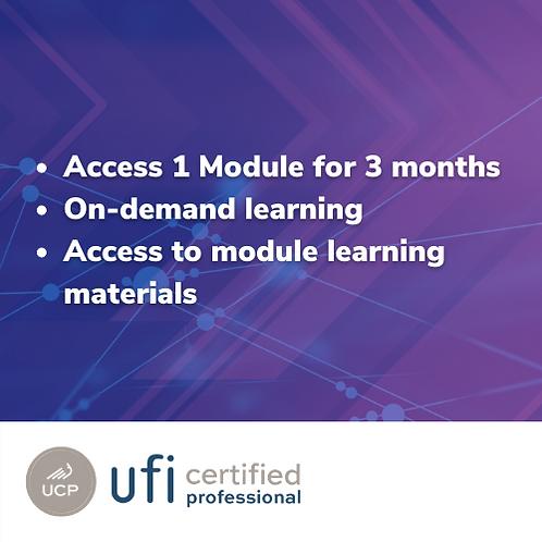 UFI Member Individual Session