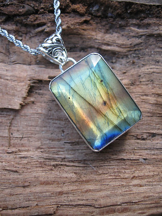 Top Quality Faceted Labradorite Item # 10164
