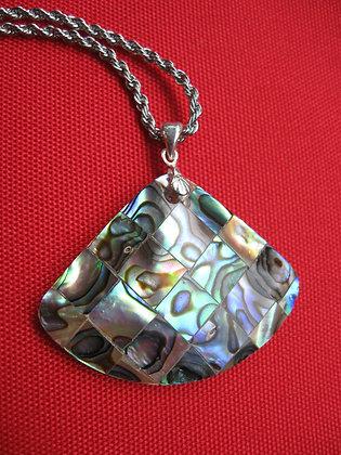 Item # 10159 .925 Abalone Shell Pendant