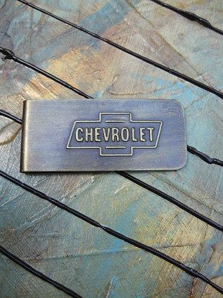 Chevrolet Money Clip ~ Item # 10015