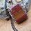 Thumbnail: Red Jasper Copper Pendant  Item # 10190