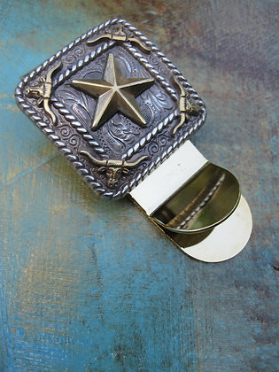 Western Star Money Clip ~ Item # 10023