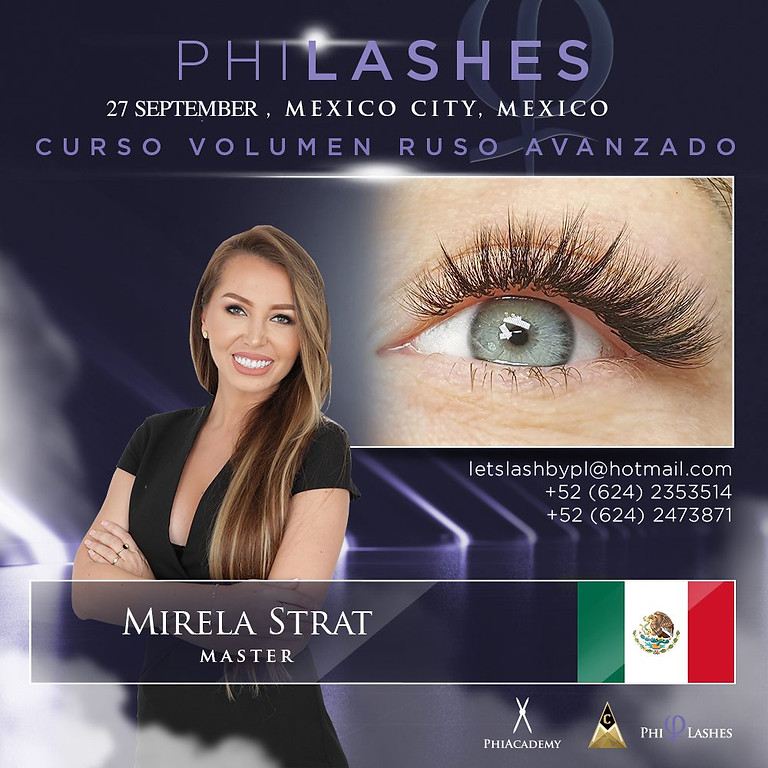 Curso Presencial Avanzado de Volumen Ruso  - MEXICO CITY - MEXICO