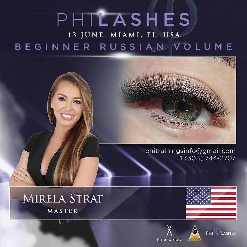 Beginner Russian Volume PhiLashes Live - MIAMI - FLORIDA