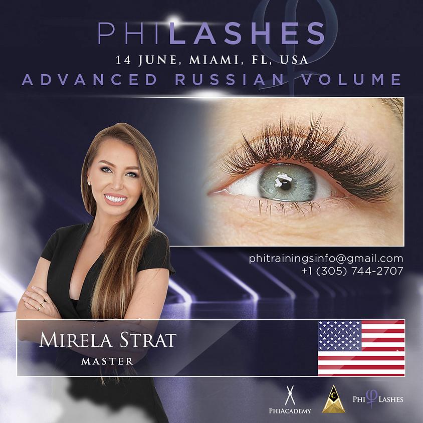 Advanced Russian Volume PhiLashes Live - MIAMI - FLORIDA