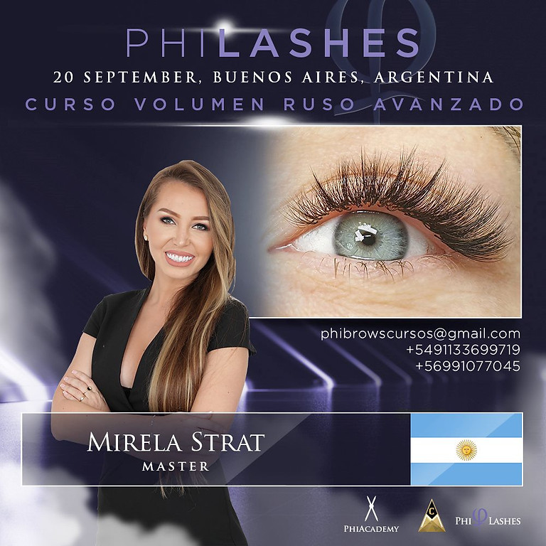 Curso Presencial Avanzado de Volumen Ruso  - BUENOS AIRES - ARGENTINA