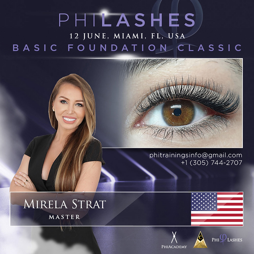 Basic Foundation Classic PhiLashes Live - MIAMI -FLORIDA