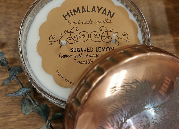 Sugared Lemon Soy Candle - Squirrel Tin