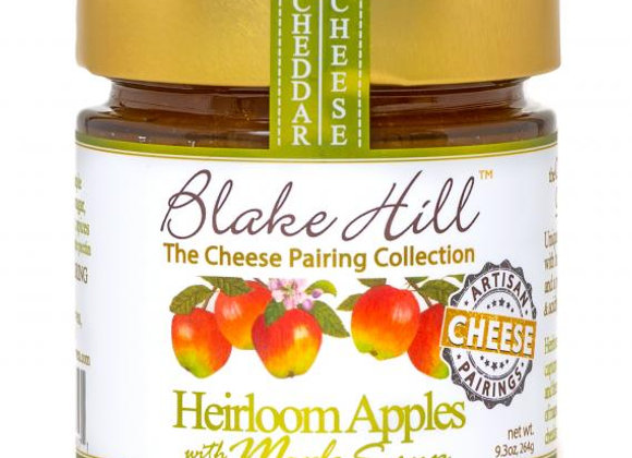 Heirloom Apples with Maple Syrup