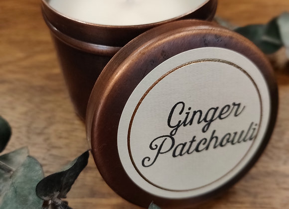 Ginger Patchouli - Travel Tin