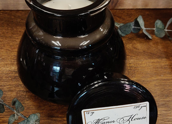 Manor House Soy Candle - Inkwell Jar