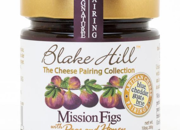 Mission Figs with Pear and Honey