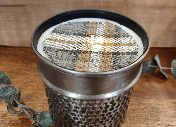 Wild Green Fig Soy Candle - Hammered Tin