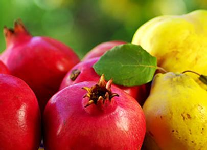 Pomegranate Quince White Balsamic Vinegar