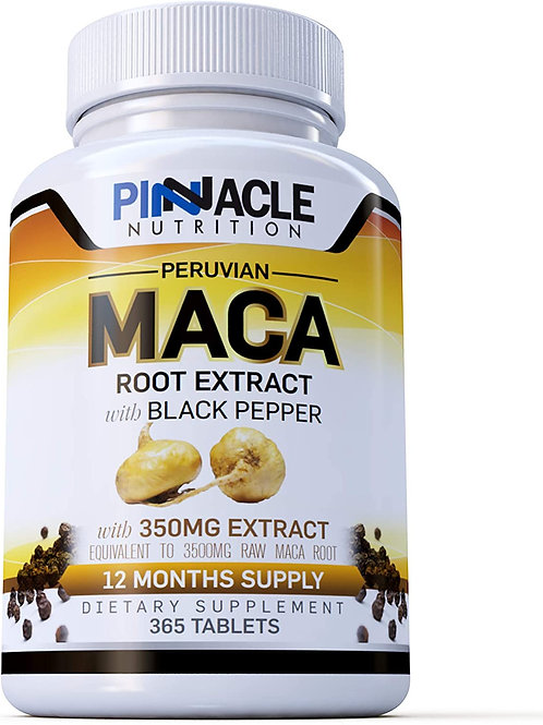 Maca Root 3500mg | 365 Servings (1 Year Supply) | Peruvian Ginseng