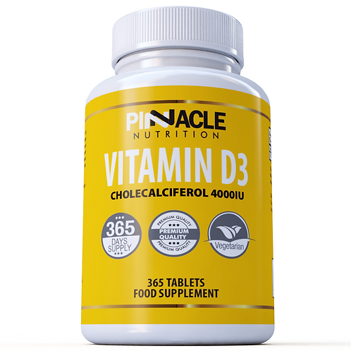 Vitamin D3 4000iu 365 Tablets | One Year Supply