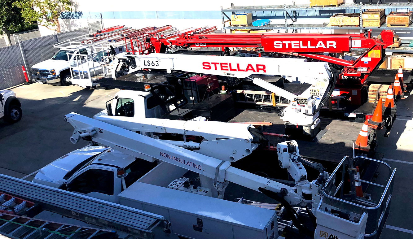 Stellar Installations Headquarters Truck