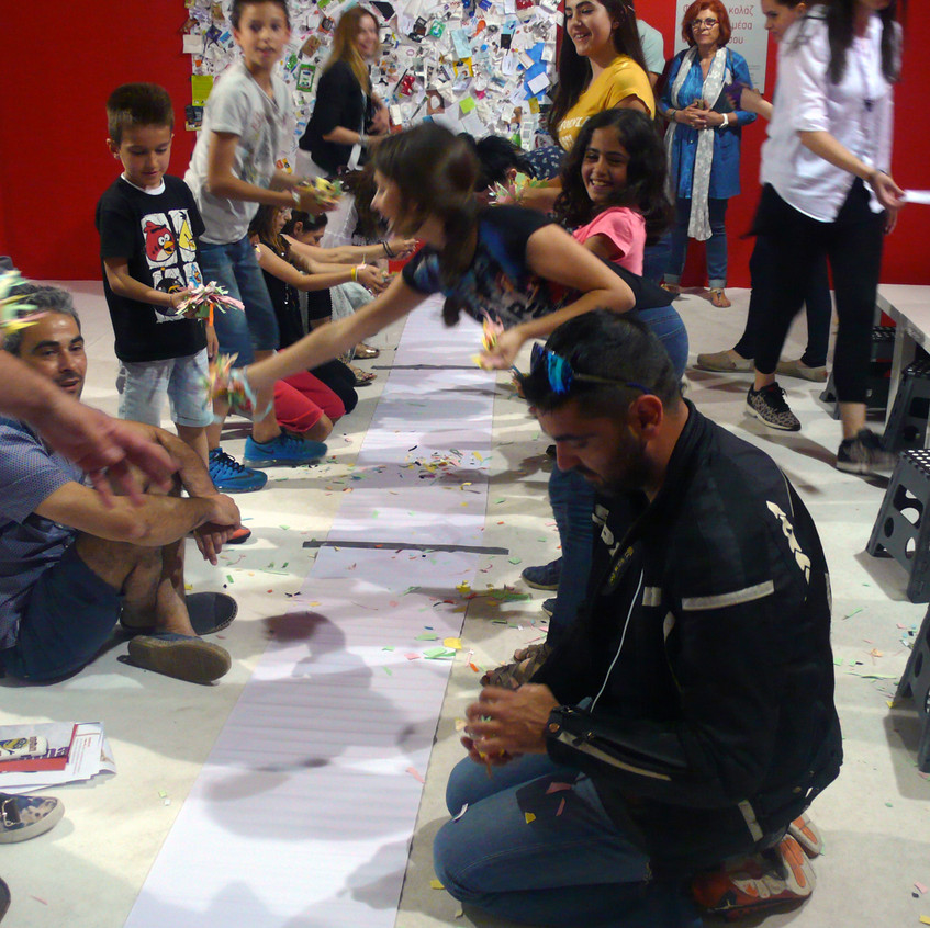 Kids Lab / Art-Athina 2016