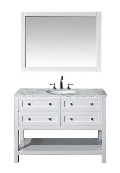 "Marla 48"" Single Sink Vanity with Mirror"