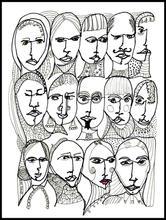 B&W Faces