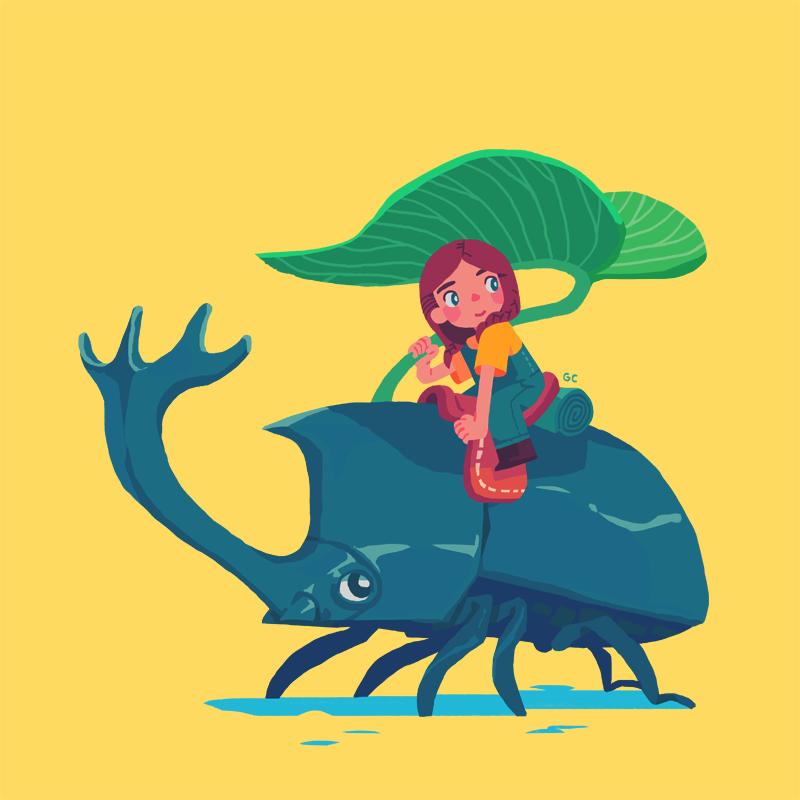 Beetle Girl