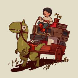 Dino Cart
