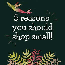 Dreams for Green: Shop Small