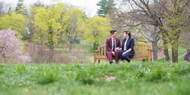 queer engagement photos