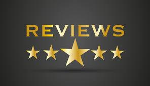 We Appreciate your Reviews