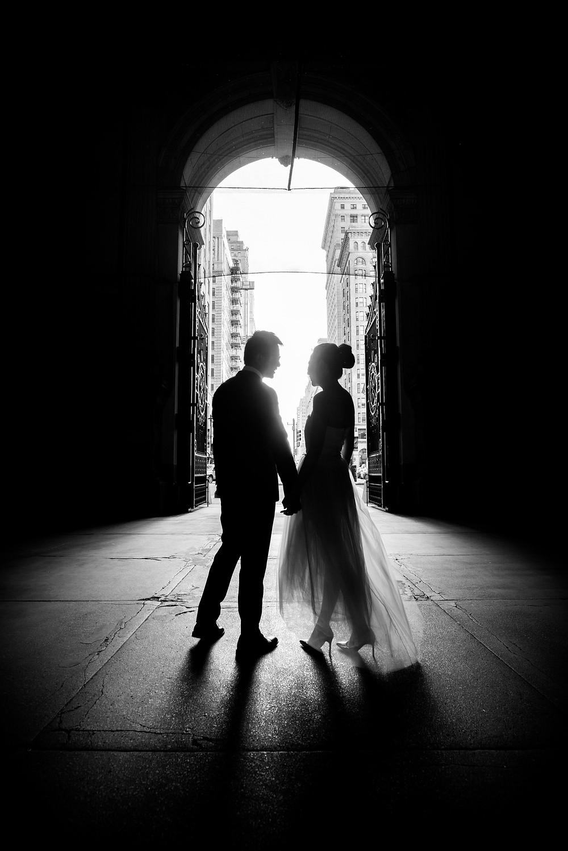 City Hall Philadelphia wedding photography