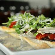 Stella Boquerones roasted pepper tartine