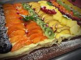 Tarte aux fruits frais de saison