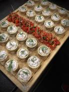 Bouchées tartelettes de rillettes de thon