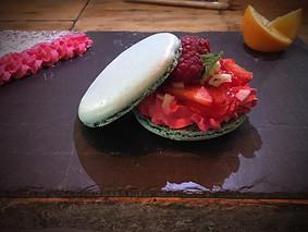 Macaron  framboisier