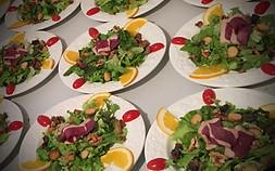Dressage salade Gasconne.