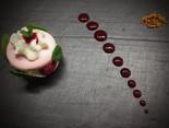 Macaron façon framboisier