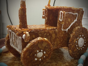 Tracteur en nougatine