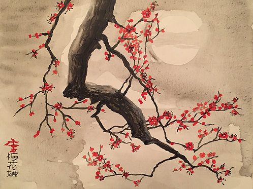 Plum Blossoms F