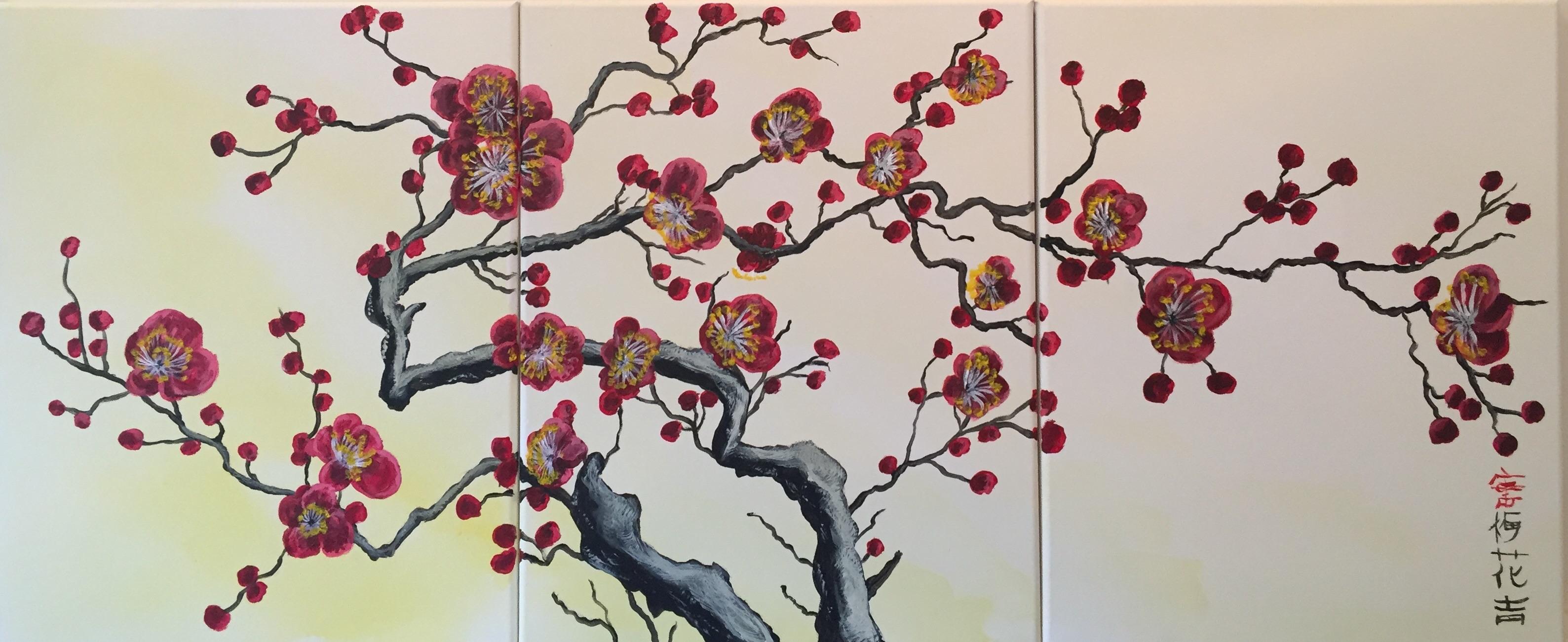 Plum Blossoms G