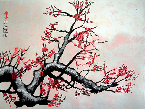 Plum Blossoms C
