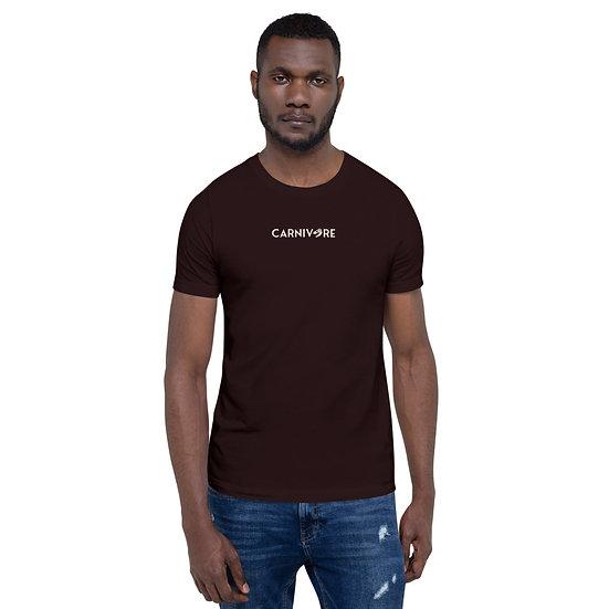 Carnivore T-Rex Skull Dinosaur Meat Eater Short-Sleeve Unisex T-Shirt